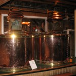 copper distilling tubs